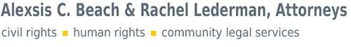 Alexsis C. Beach & Rachel Lederman